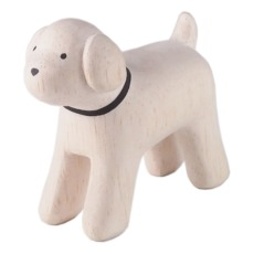 product-T-Lab Poodle Wooden Figurine