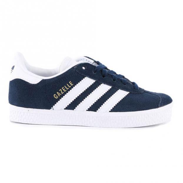 c7a1ed2b3 Zapatillas Cordones Gazelle Azul Marino Adidas Calzado Joven