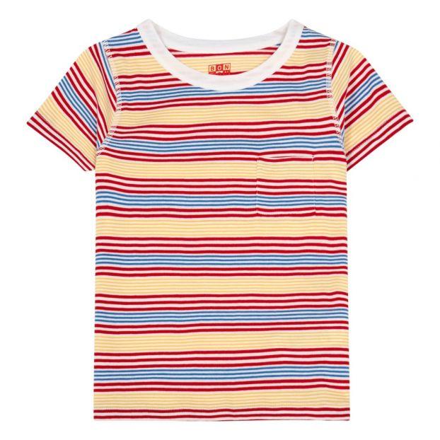info for 3b390 044b8 Gestreiftes T-Shirt Bunt
