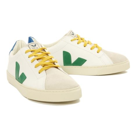 Esplar Leather and Suede Lace-Up Trainers-product