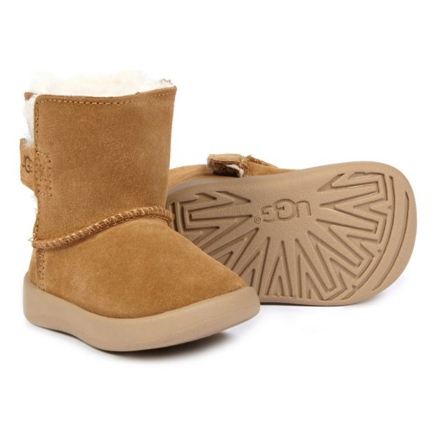 659890b89a4 Keelan Fur Lined Boots Camel Ugg Shoes Baby , Children