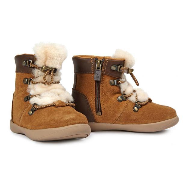 bc7bcd36648f8 Boots Ager Camel Ugg Chaussure Bébé