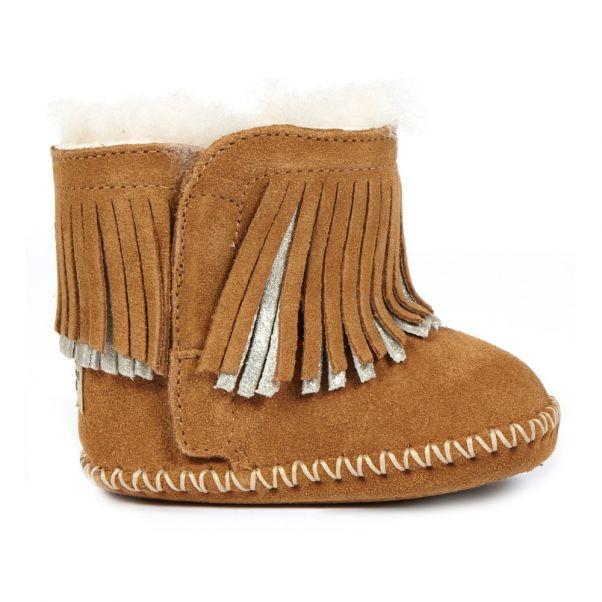 Camel Boots Franges Fourrées Chaussure À Branyon Ugg Bébé rshtQd