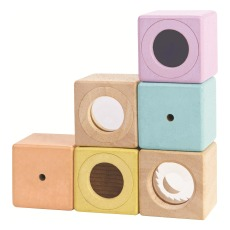 product-Plan Toys Pastel Senses Blocks - Set of 6