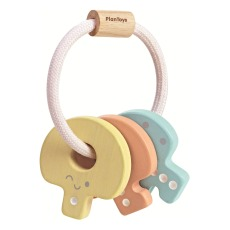product-Plan Toys Pastel Key Ring Rattle