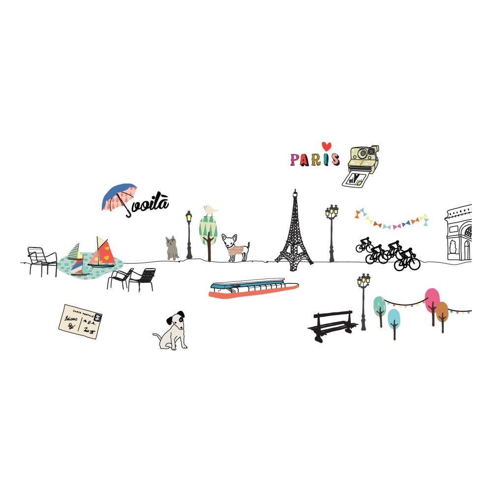 Wandsticker Paris Must-Have, Special 1077