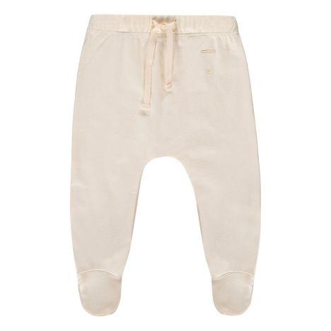 3f9c0bf5f840 Organic Cotton Footed Jogging Bottoms Cream Gray Label Fashion