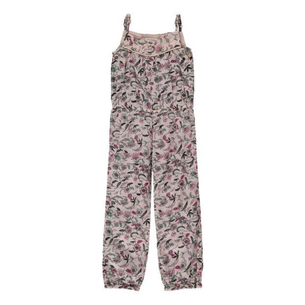 fe4bc46abb3 Lili Floral Jumpsuit Pink Moon Paris Fashion Children