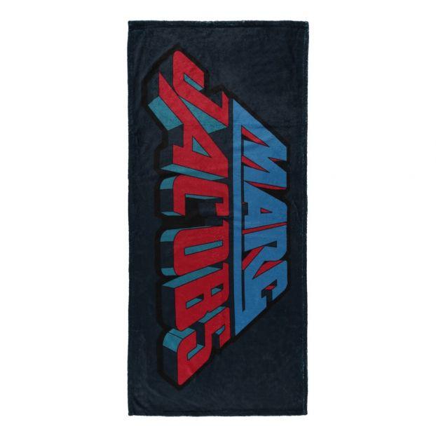 Marc Jacobs Serviette De Plage.Serviette Plage Velours Eponge Bleu