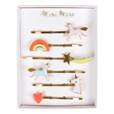 product-Meri Meri Unicorn Hair Clips - Set of 6