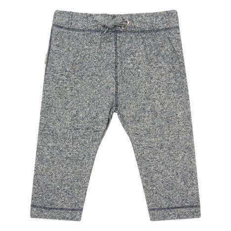 Pantalone in cotone bio con cuciture a contrasto Matt Blu notte f69115906d7d