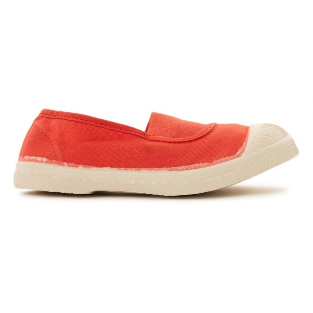 5f232b68bbe0e Tennis Elastiques Corail Bensimon Chaussure Adolescent