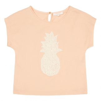 6fa616ab03e Chloé Embroidered Pineapple T-Shirt-listing