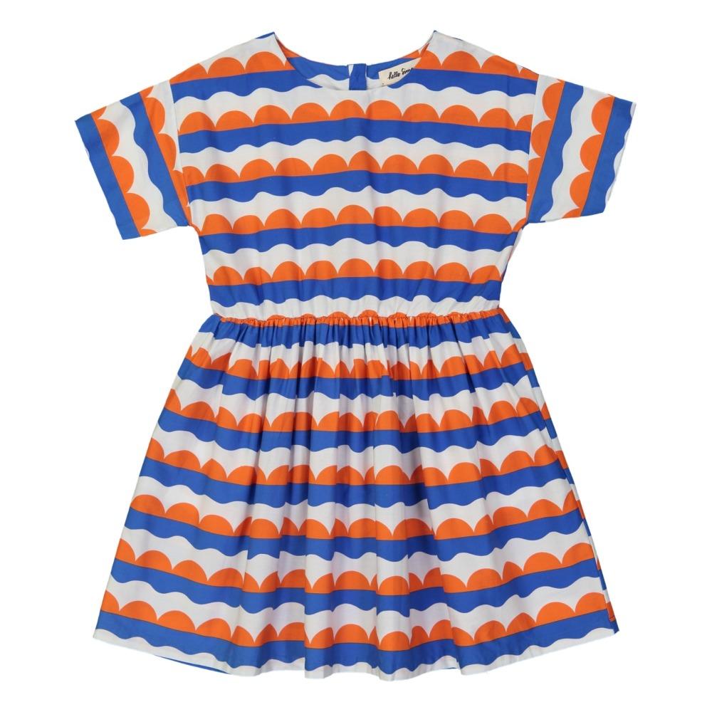 Robe Imprimé Géométrique Thao Orange Hello Simone Mode Enfant 5071fdaba727