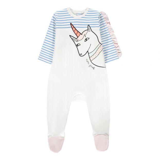 8750ef164a Pigiama unicorno Bianco Little Marc Jacobs Moda Bebè