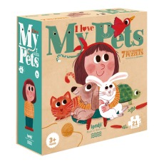 product-Londji Puzzle animaux I love my pets