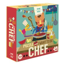 product-Londji Je Veux Devenir Chef Puzzle