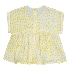 product-Blune Kids Blouse Pois Rayures Lurex Sunlight