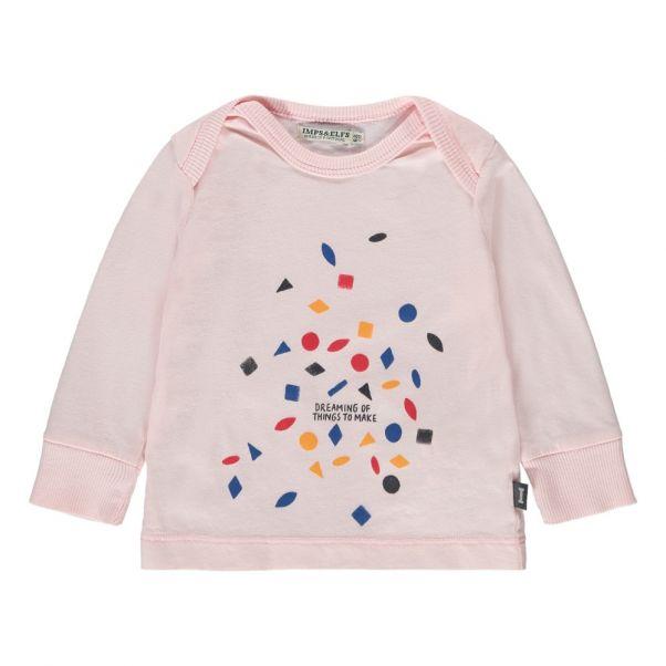 Dreaming Organic Cotton T-Shirt Pale pink Imps   Elfs Fashion 658594308c6