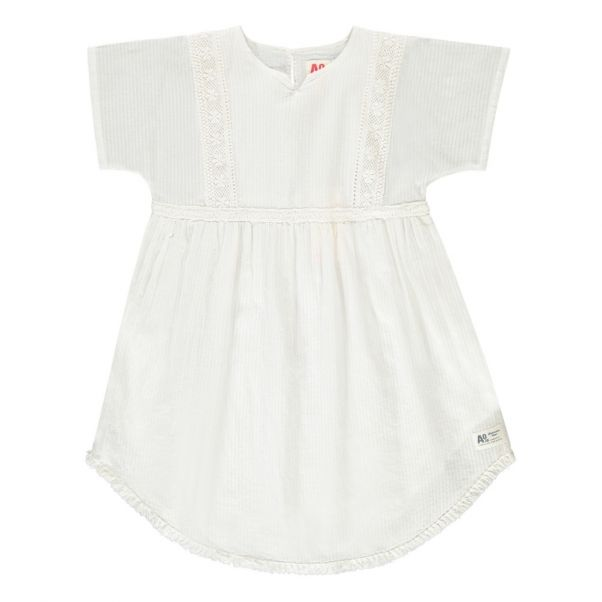 Robe Dentelle Blanc cassé AO76 Mode Adolescent , Enfant 4c046b244e39