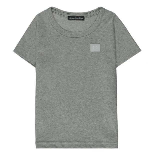 72c3ea0d Mini Nash Face T-Shirt Grey Acne Studios Fashion Children
