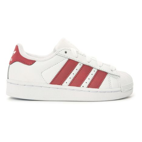 Baskets Cuir Lacets Superstar Irisées-product