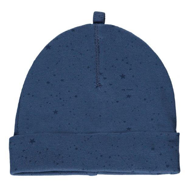 3e40701f846 Star Organic Cotton Hat Blue Imps   Elfs Fashion Baby