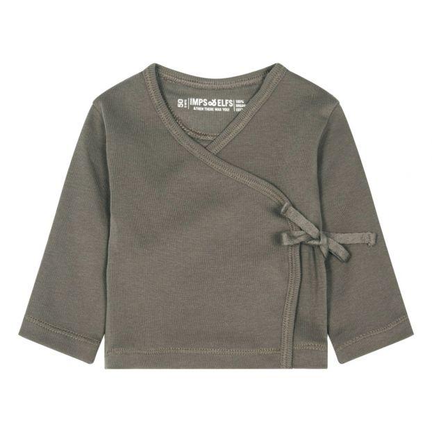 b123bef4c79 Organic Cotton Wrap Grey Imps   Elfs Fashion Baby