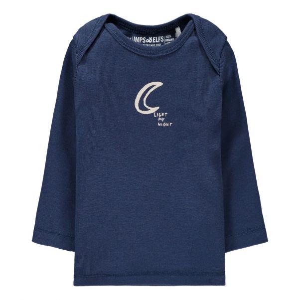 29e0b14bc29 Moon Organic Cotton T-Shirt Navy blue Imps   Elfs Fashion Baby