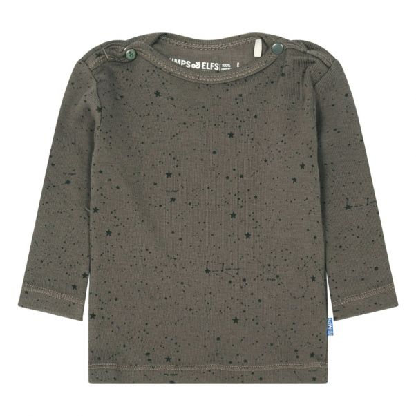 22c7b5af20f Star Organic Cotton T-Shirt Grey Imps   Elfs Fashion Baby