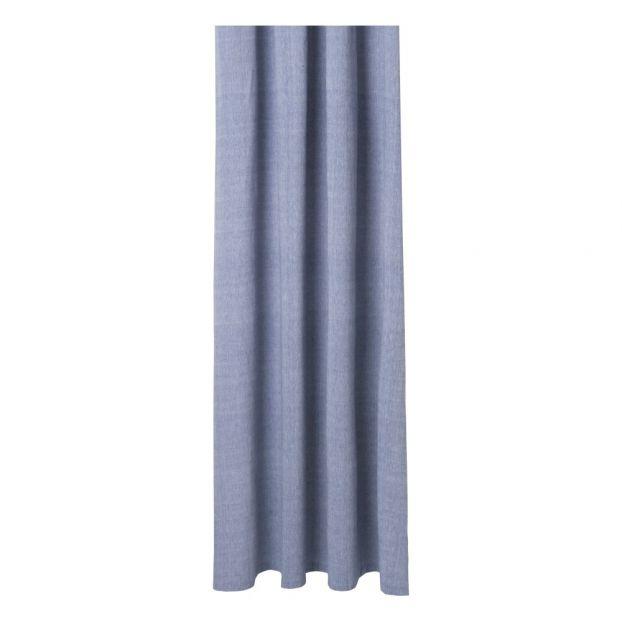 Tenda doccia in chambray 160x205cm