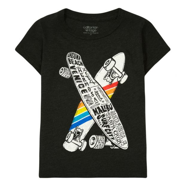 Skateboard T-Shirt Dark grey