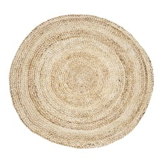 product-House Doctor Round Seed Hemp Rug D100cm