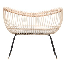 product-Bermbach Handcrafted Handmade LOLA Rattan Crib 70x50 cm