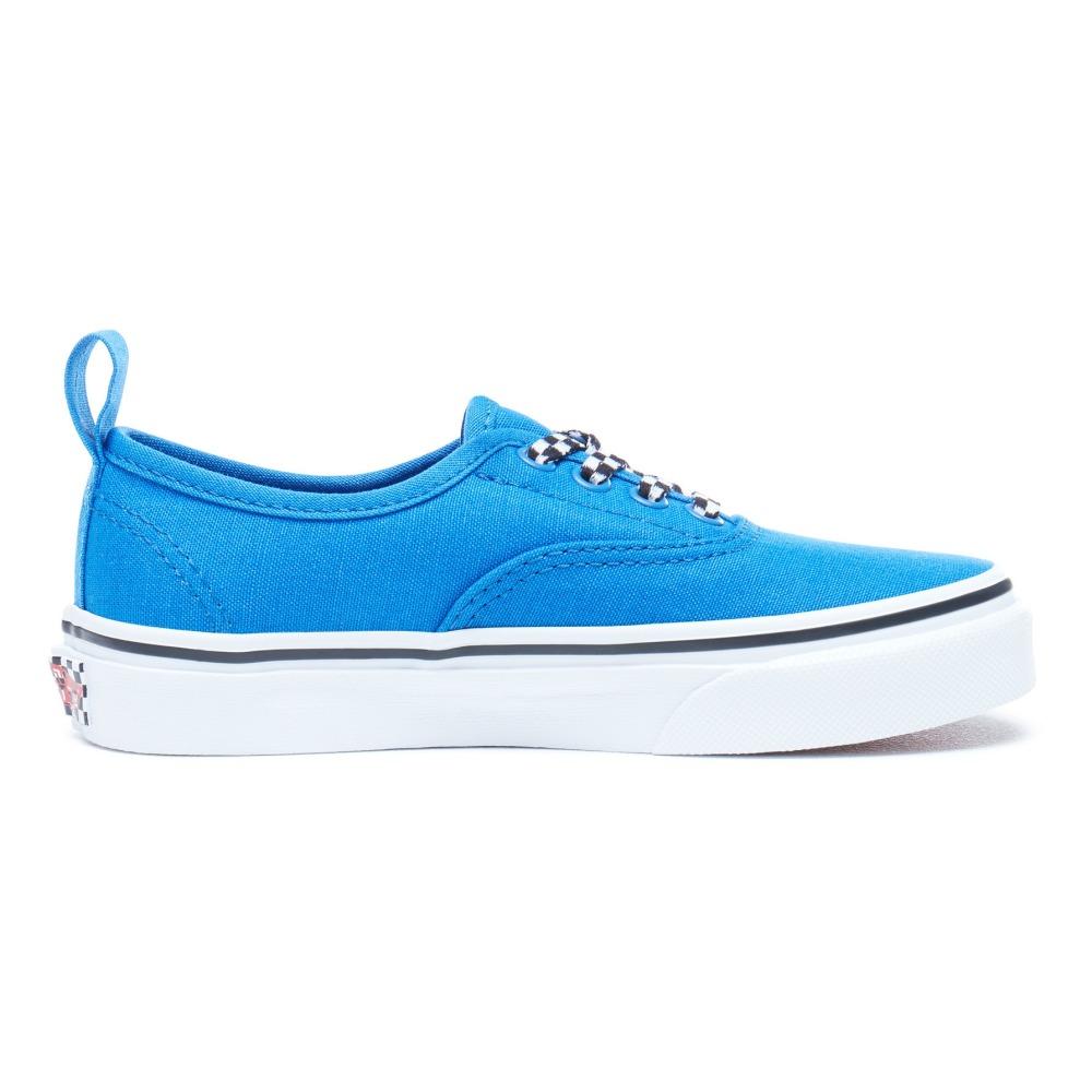 2370644cc4c Authentic Elastic Checkboard Laces Trainers Royal blue Vans Shoes