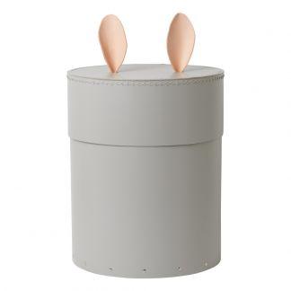 Boîte de rangement lapin Gris