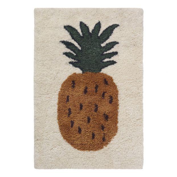 Tapis En Laine Fruiticana Ananas