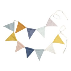 product-Fabelab Organic Cotton Bunting Flags Garland