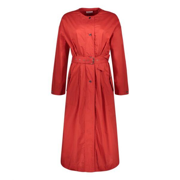 436f6def4d794 Robe Longue Ceinturée Shelf Rouge Laurence Bras Mode Adulte