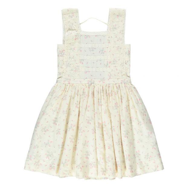 Salomé Les De Mode Blumenmuster Weiß Kleid Paris Coyotes 4A5LjR