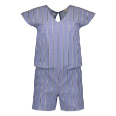 product-Tinsels Elio Open Back Striped Playsuit