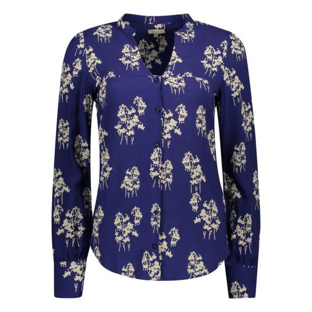 wholesale dealer 60d30 e2120 Hemd Blumenmuster Kilia Nachtblau
