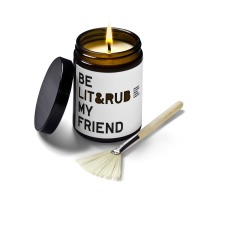 product-Be Soap My Friend Scented Massage Candle - Orange, Lavender and Sandalwood