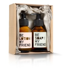 product-Be Soap My Friend Coffret - Savon et lotion pour le corps