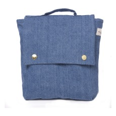 product-Rive Droite Minimes Recycled Denim Children's Backpack