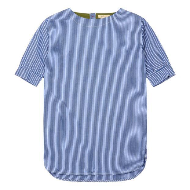 b1279b1d0 Amelia Striped Dress Navy blue Bellerose Fashion Teen