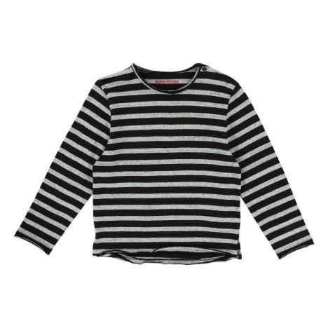 801431bee70d T-Shirt mit Streifen Jackson Grau Meliert Zadig   Voltaire Mode