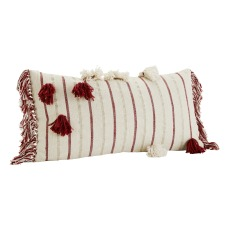 product-Madam Stoltz Cotton Pompom and Fringe Ethnic Cushion