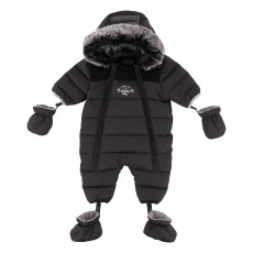 product-Timberland Fleece Lining Snowsuit with Removable Hoodie