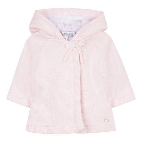 6bbcc030b7c10 Cotton and Cachemire Coat Pale pink Tartine et Chocolat Fashion